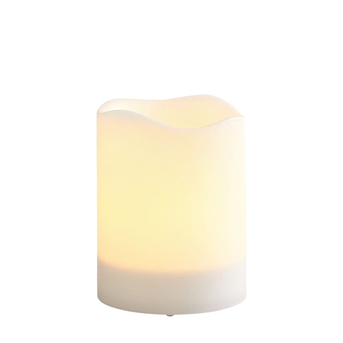 Deco Wick™ 3x4 Outdoor LED Pillar Candle