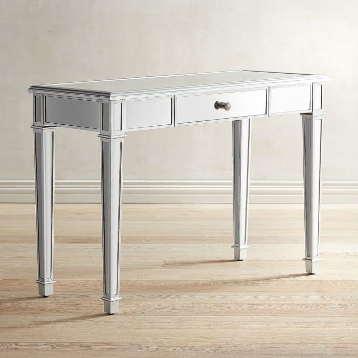 Hayworth Silver Vanity Table
