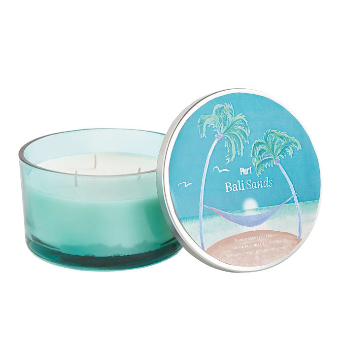 Bali Sands Filled 3-Wick Candle