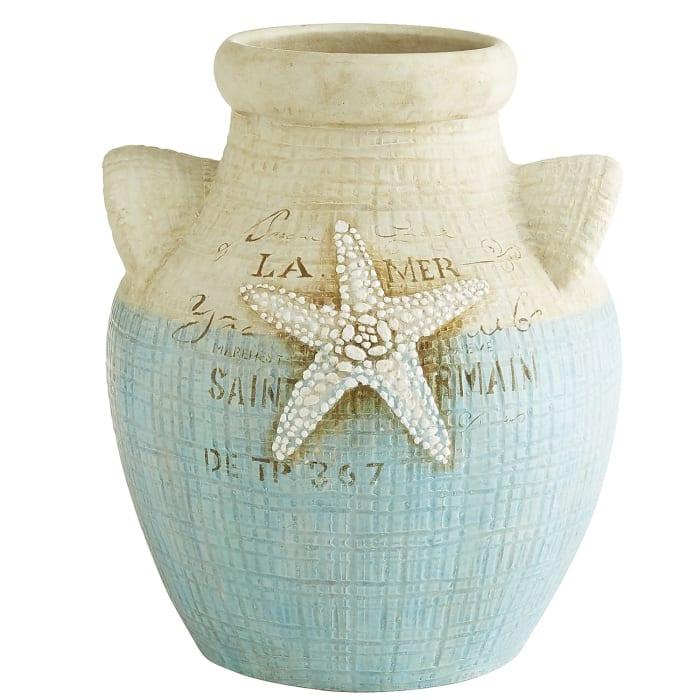 Terracotta Starfish Vase