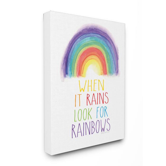 Rainbow Search Wall Art