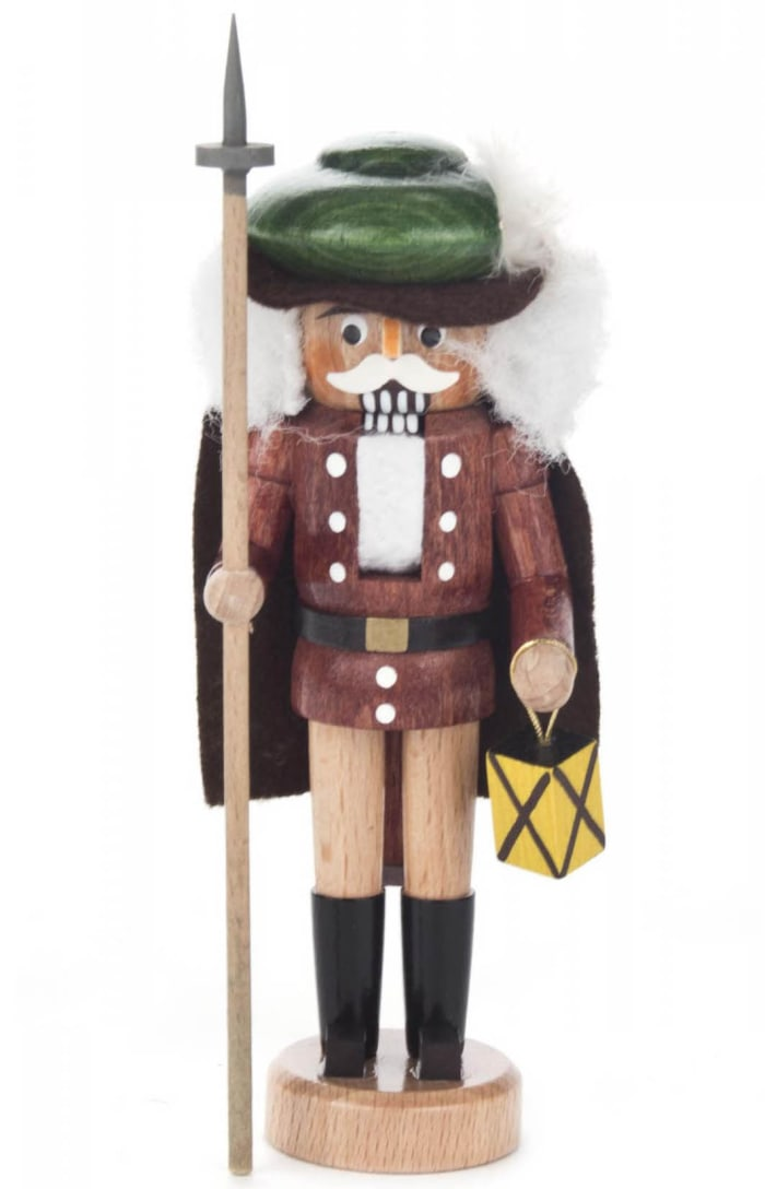 Mini Nutcracker - Nightwatchman (Natural)