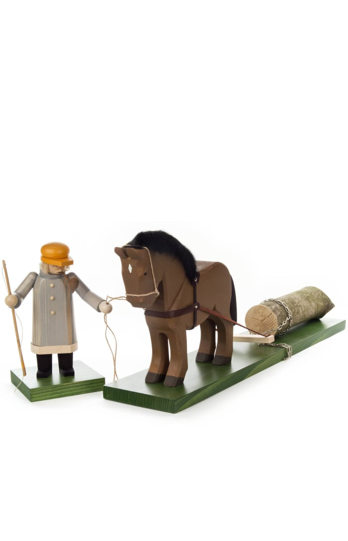 Smoker - Woodsman With Horse