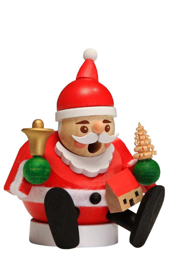 Richard Glaesser Incense Burner - Mini Santa Claus