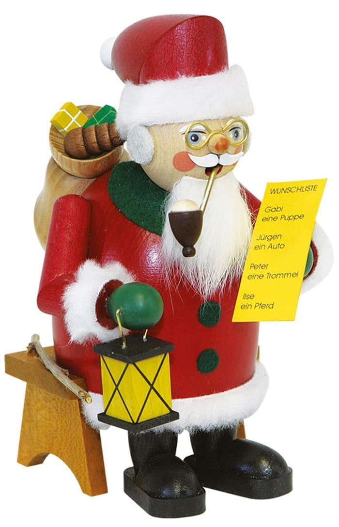 Richard Glaesser Incense Burner - Santa Claus With Wishlist