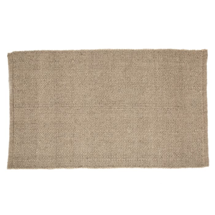 Wool Handwoven Gray Rug