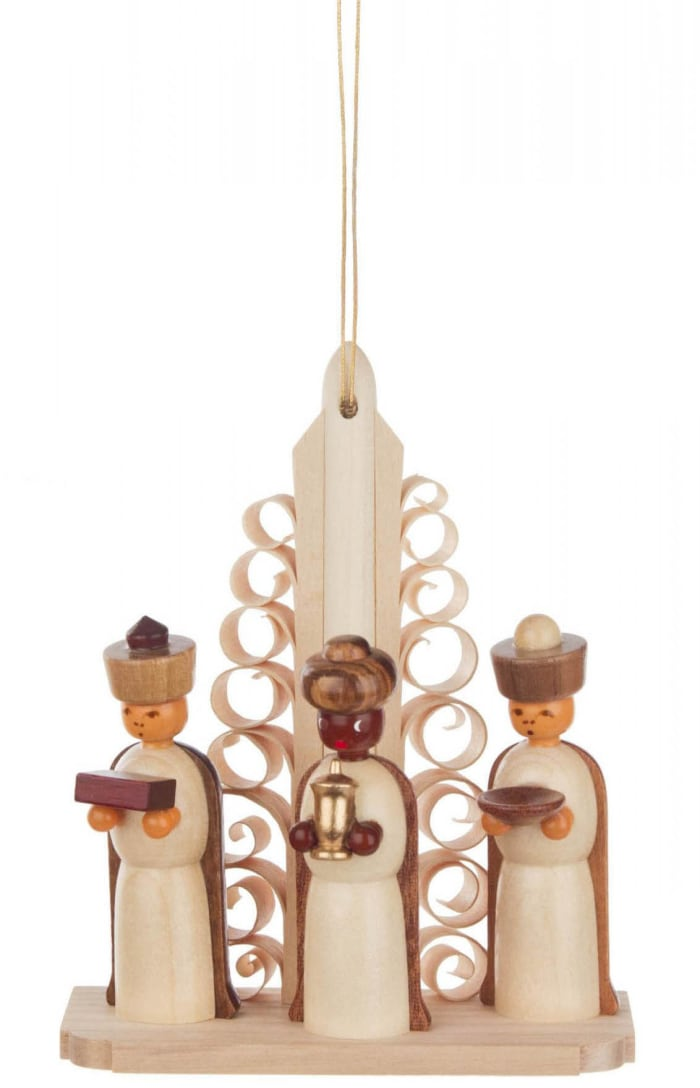 Nativity with Three Kings Ornament