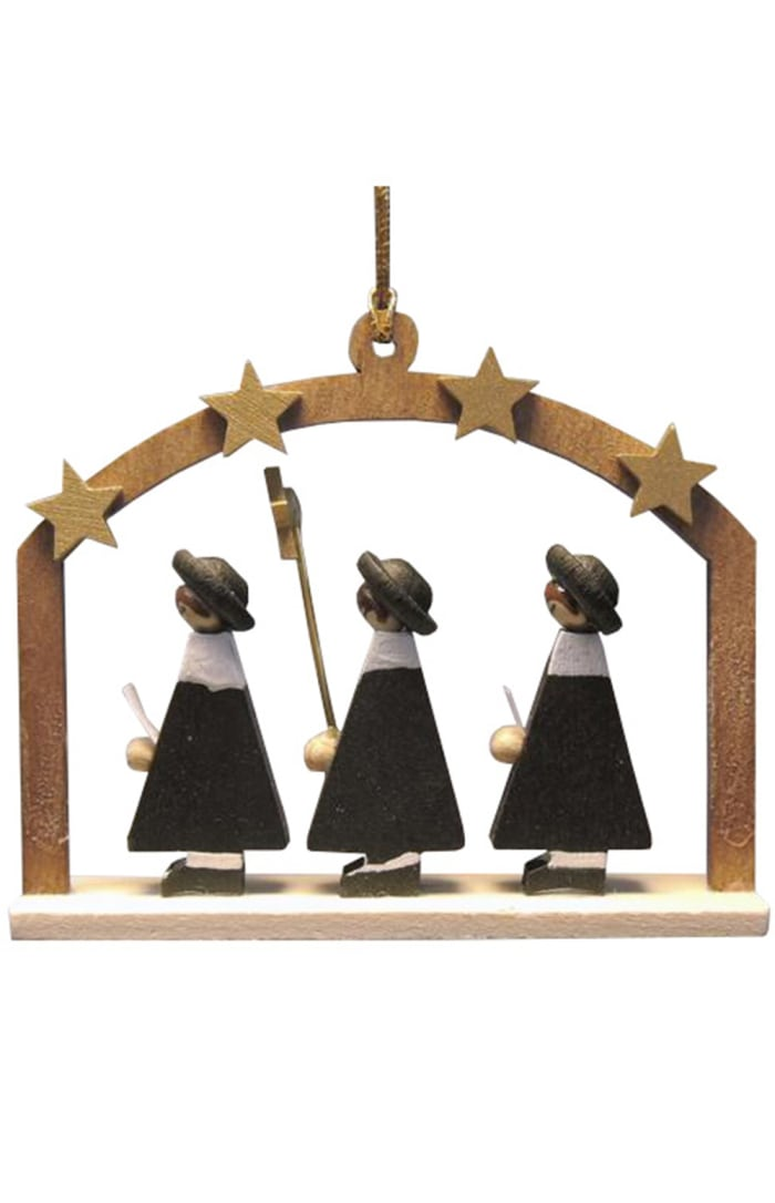 Richard Glaesser Ornament - Carolers