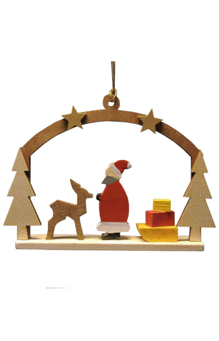 Richard Glaesser Ornament - Santa Claus