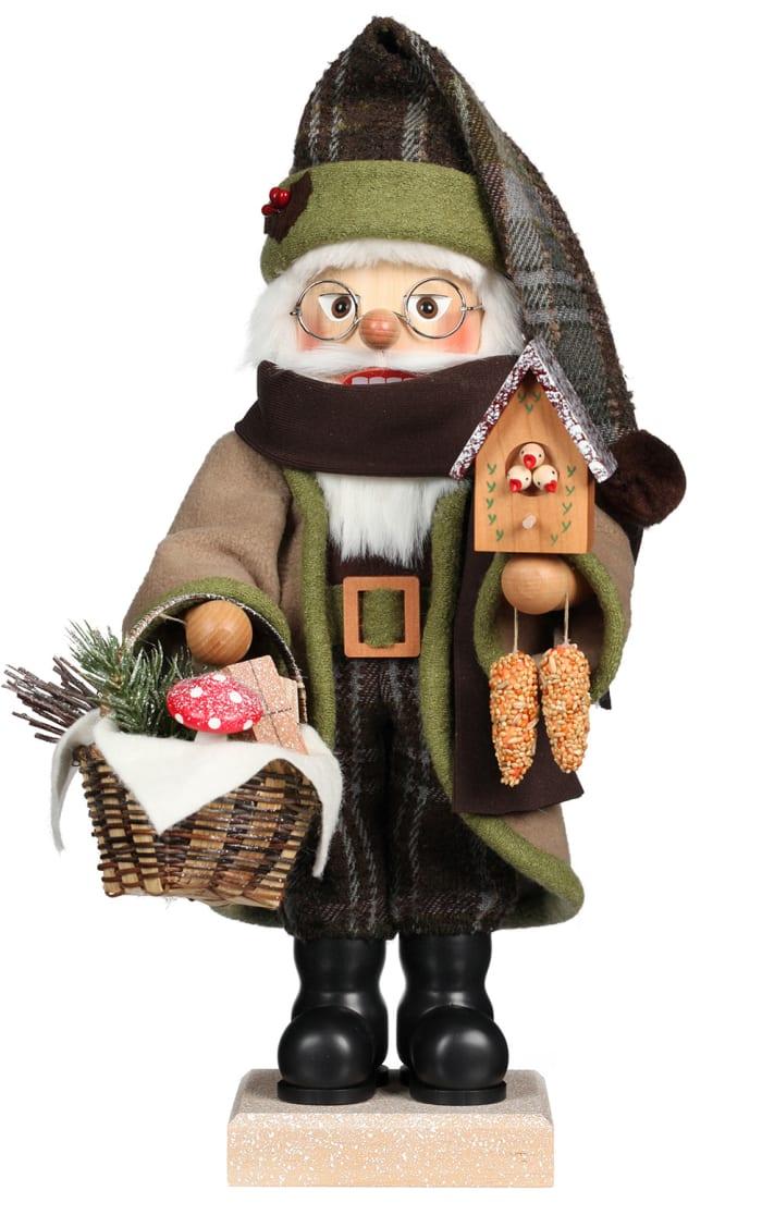 Christian Ulbricht Nutcracker - Forest Santa With Bird House