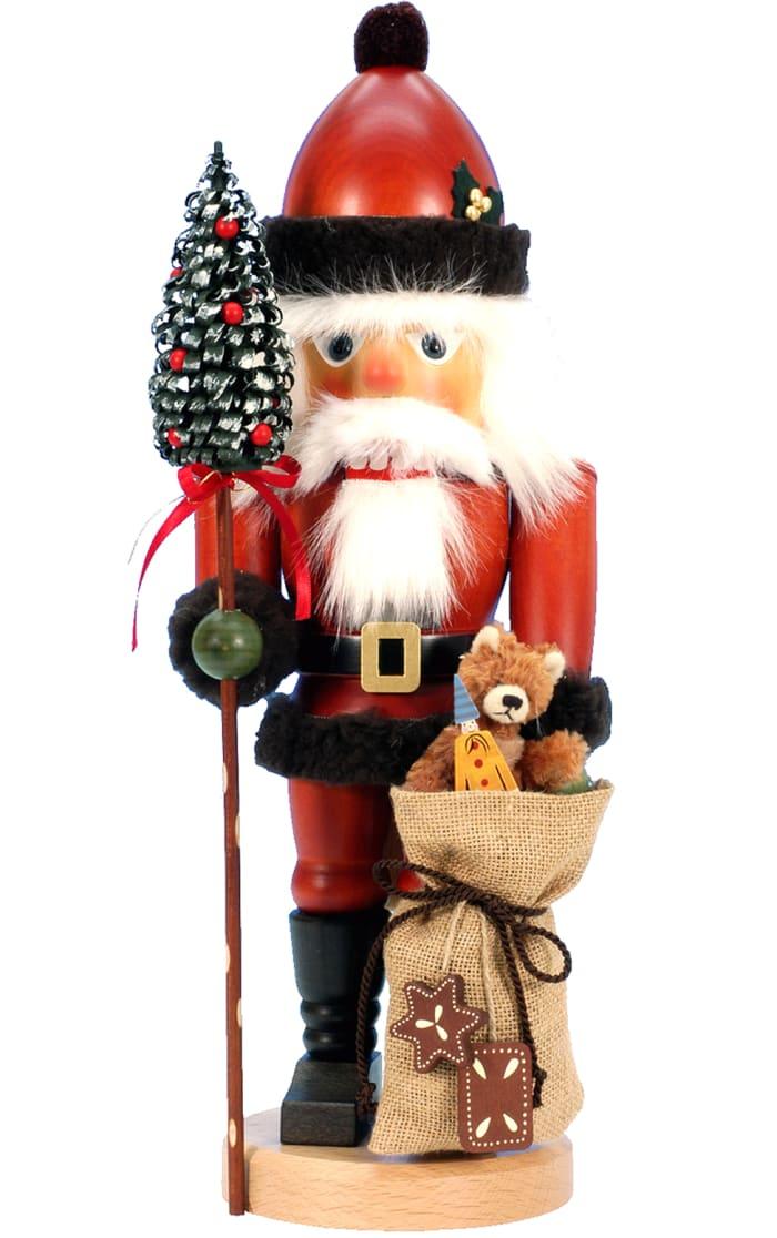 Christian Ulbricht Nutcracker - Santa with Teddy