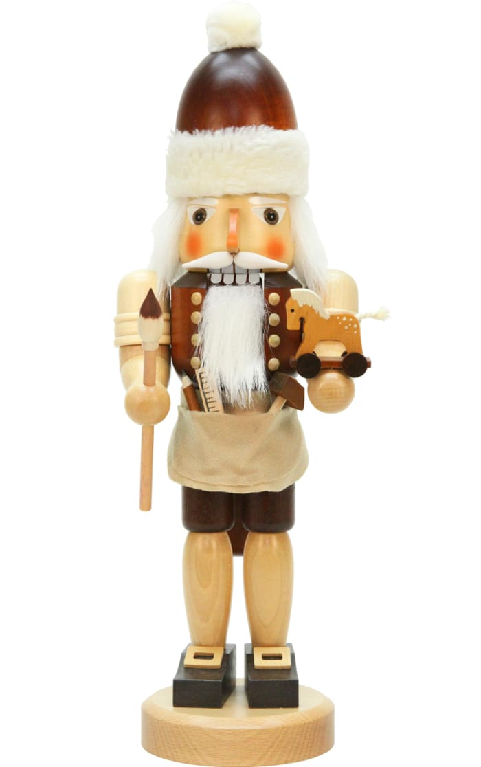 Christian Ulbricht Nutcracker - Santa with Toys (Natural)