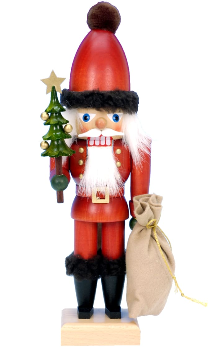 Christian Ulbricht Nutcracker - Santa with Tree and Sack