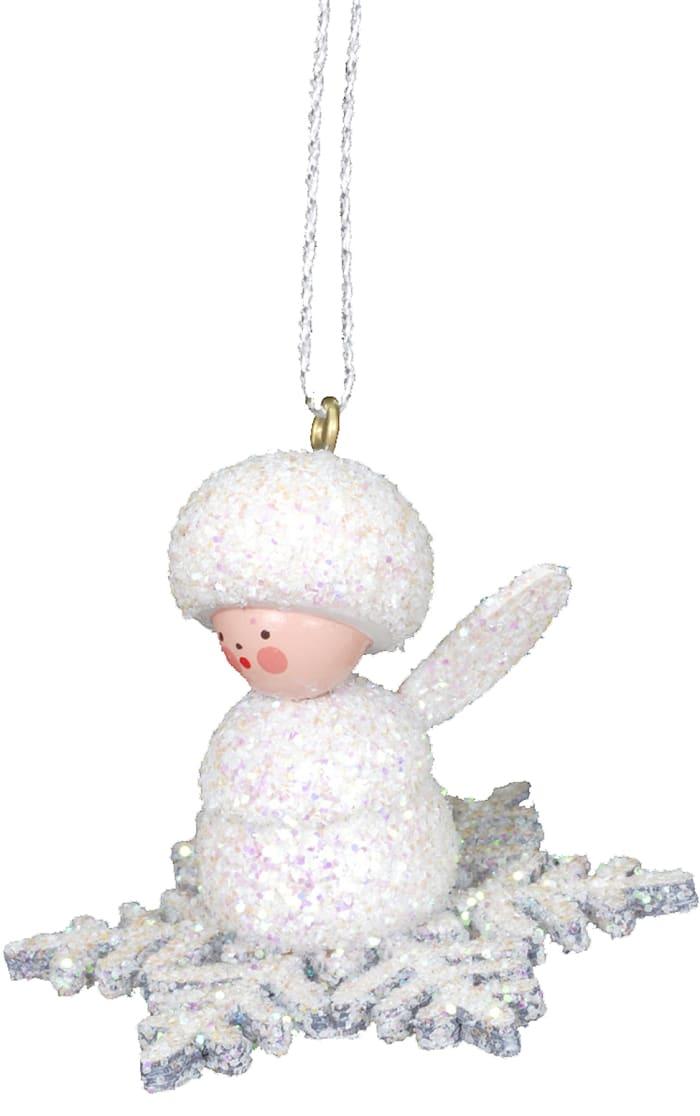 Christian Ulbricht Ornament - Angel on Snowflake