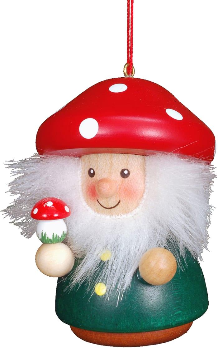 Christian Ulbricht Ornament - Mushroom Man