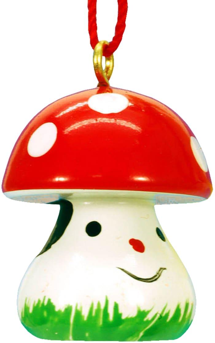 Christian Ulbricht Ornament - Mushroom with Face