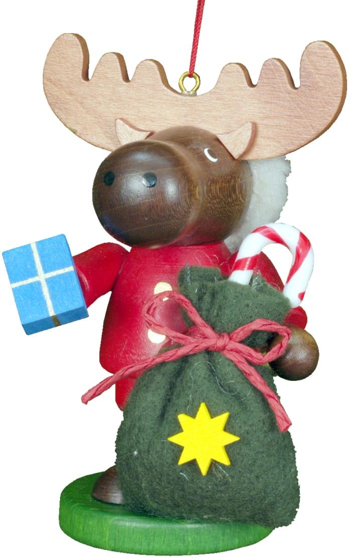 Christian Ulbricht Ornament - Santa Elk -