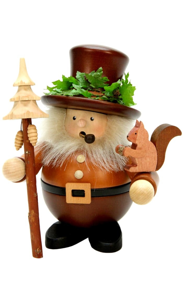 Christian Ulbricht Incense Burner - Woodsman (Natural)