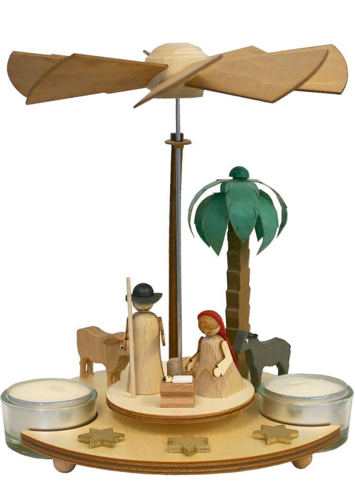Pyramid - Nativity Scene