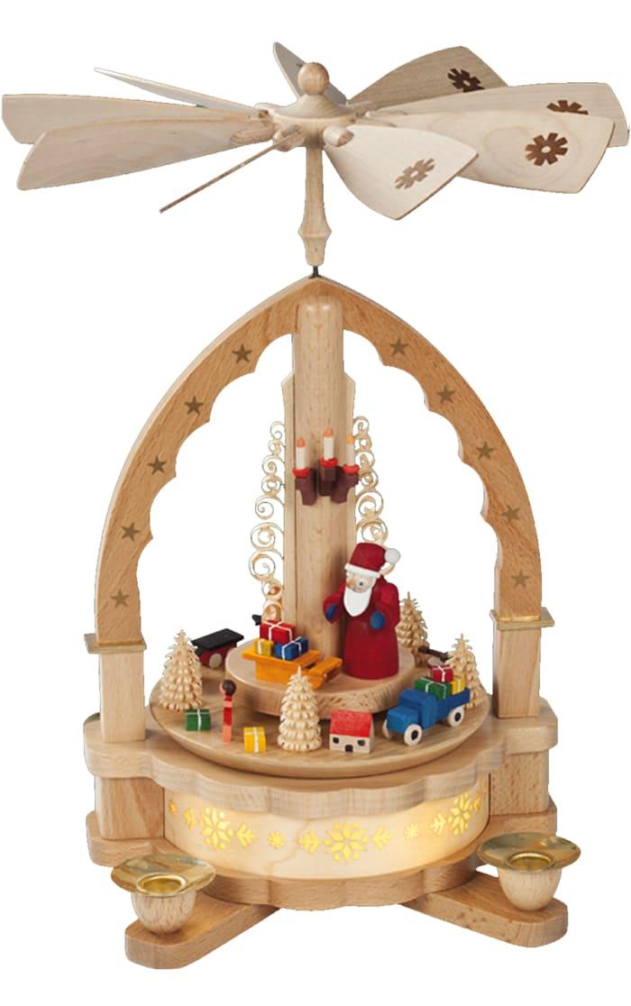 Richard Glaesser Pyramid - Santa with Toys