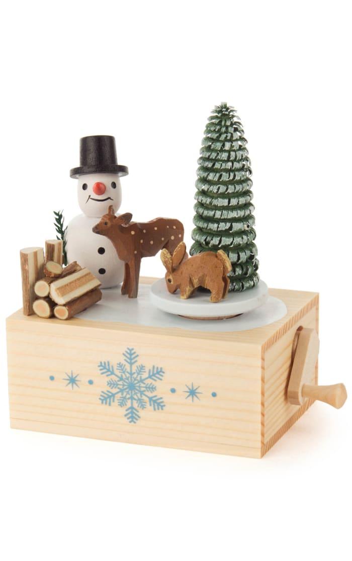 Music Box - Snowman