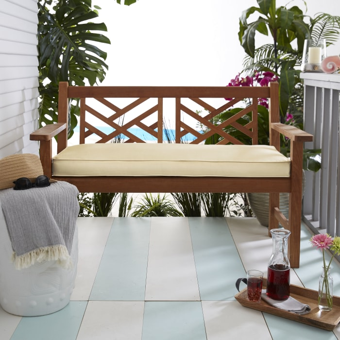 Sunbrella Bench Cushion 55