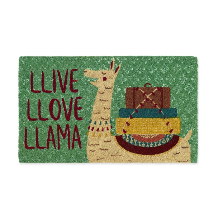 Llive Llove Llama Doormat