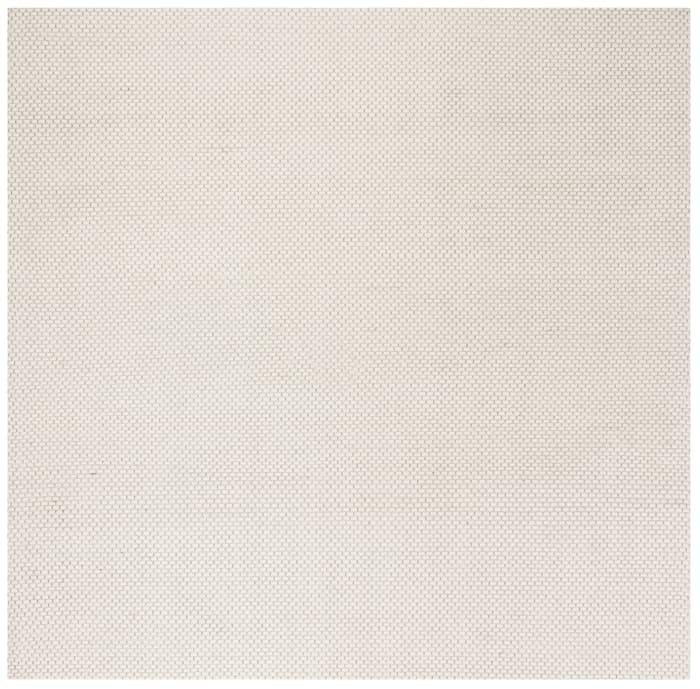 Square Ivory Wool Rug  6' x 6'