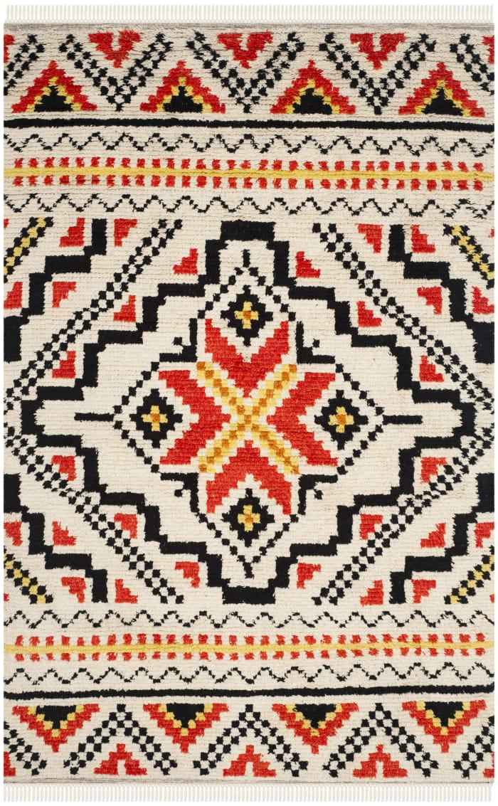 Multi Wool Rug 6' x 9'