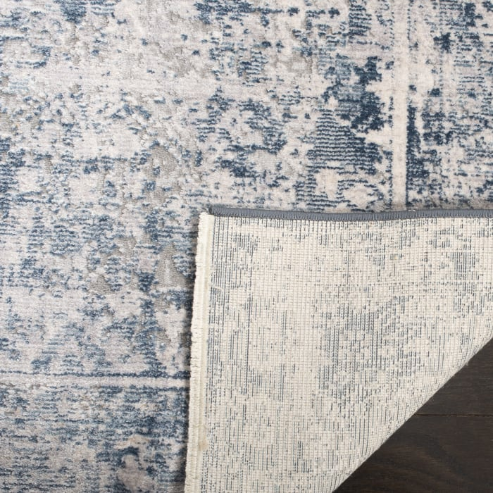 Navy Polyester Rug 9' x 12'