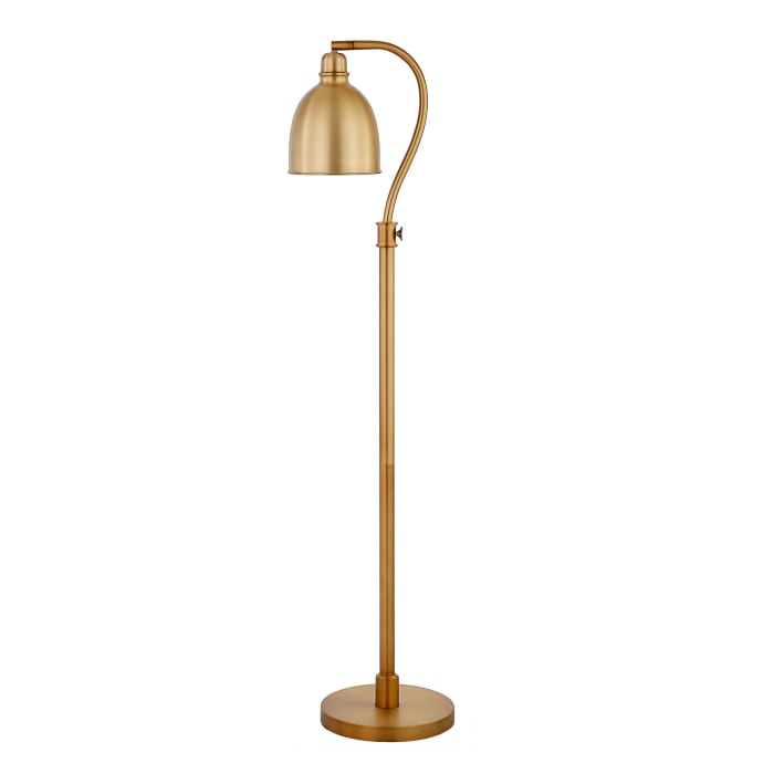 Arc Floor Lamp in Brass