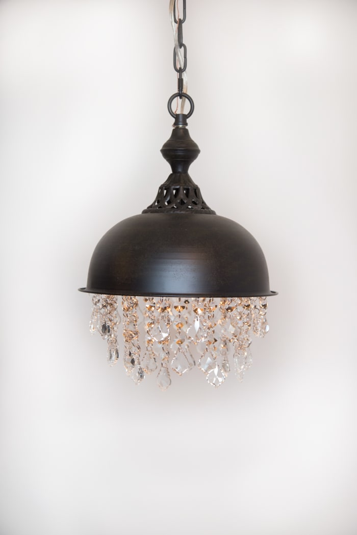 Glam Industrial Pendant Light