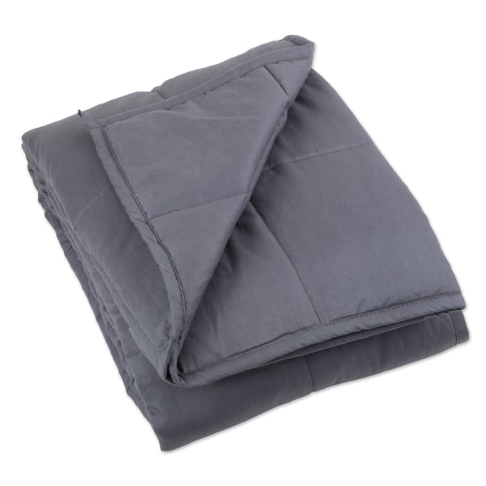 60x80 15lbs Grey Weighted Blanket