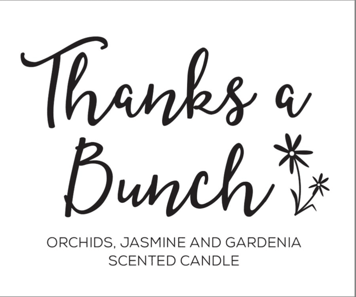 Thanks A Bunch! - Freshly Pick Orchids, Jasmine And Gardena Tealights 36 Pc