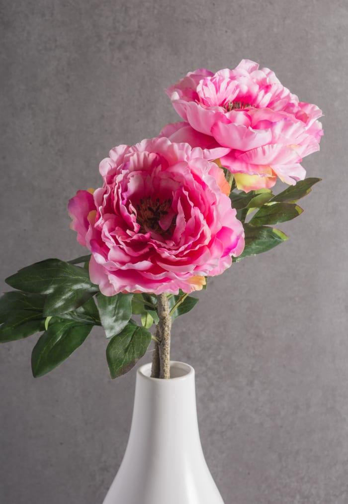 Flower Peony Light Pink (Set of 3)