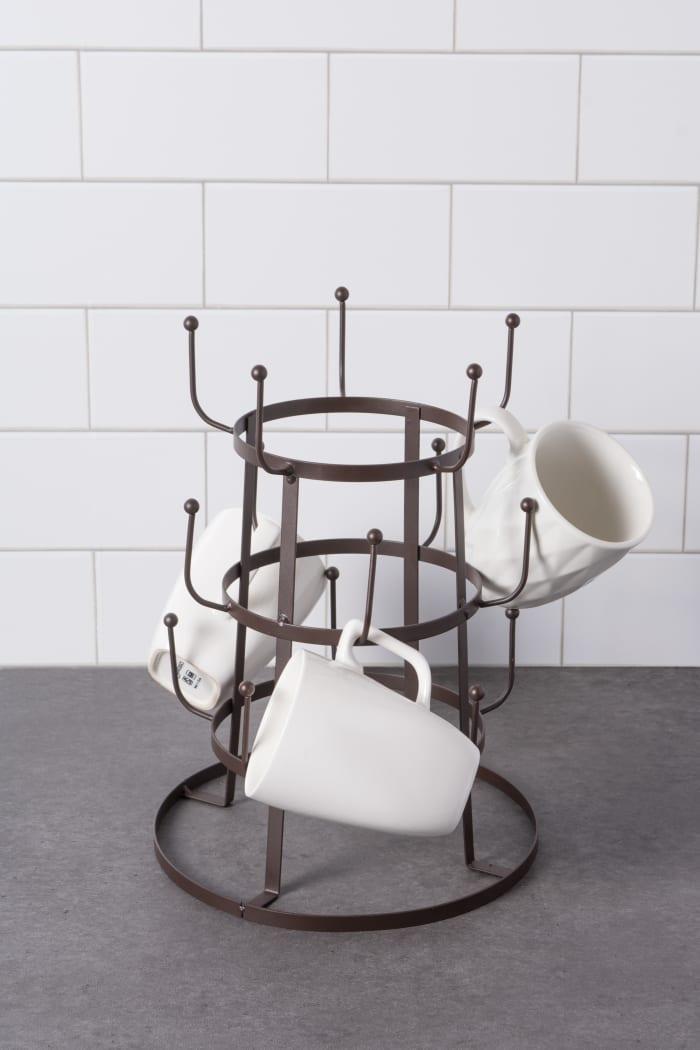Vintage Mug Stand Rustic Bronze