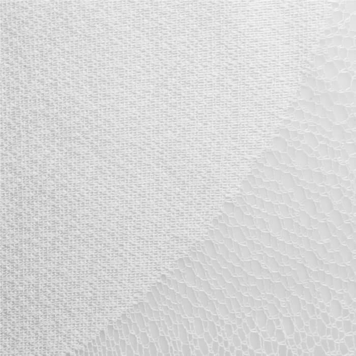 White Lace Circle Window Curtain 52x108 Set/2