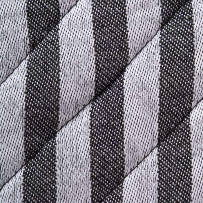 Black & White Stripe Kitchen Set