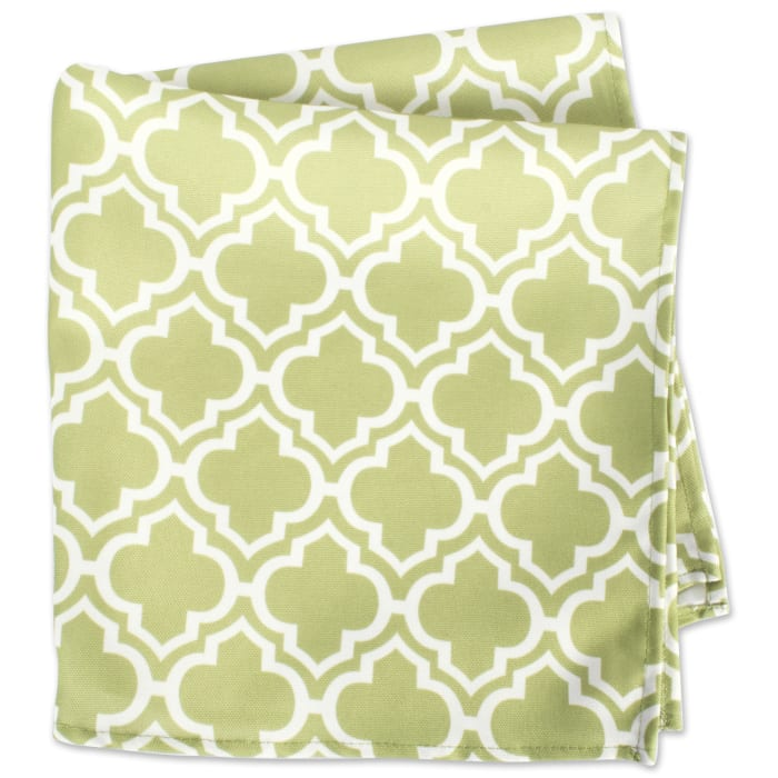 Lattice Print Outdoor Napkin (Set of 6)