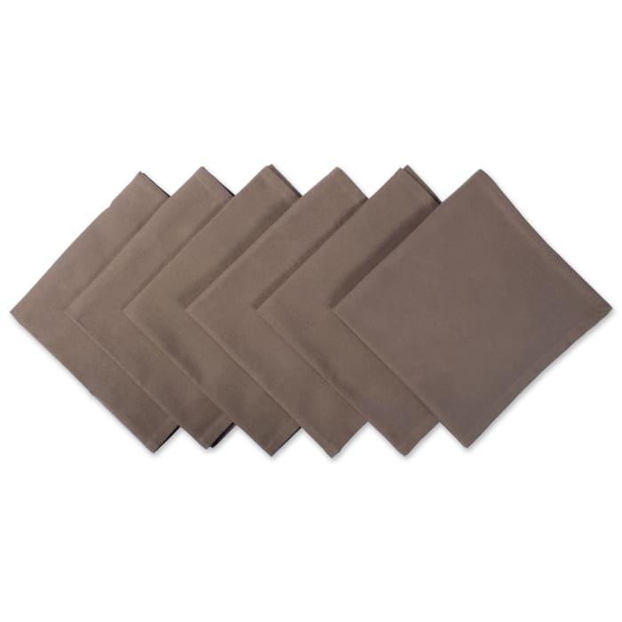 Napkin Brown (Set of 6)