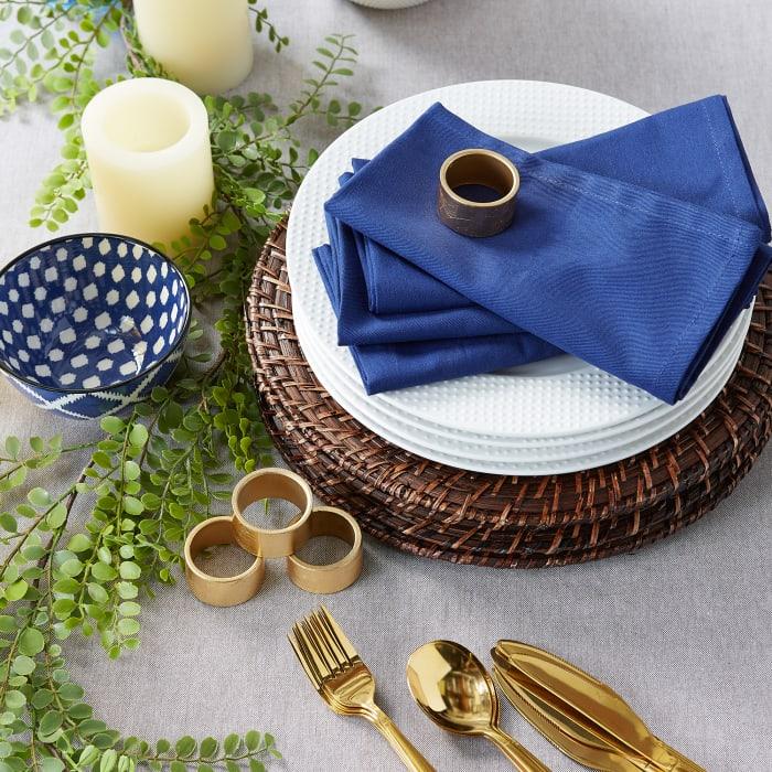 Nautical Blue Buffet Napkins (Set of 12)
