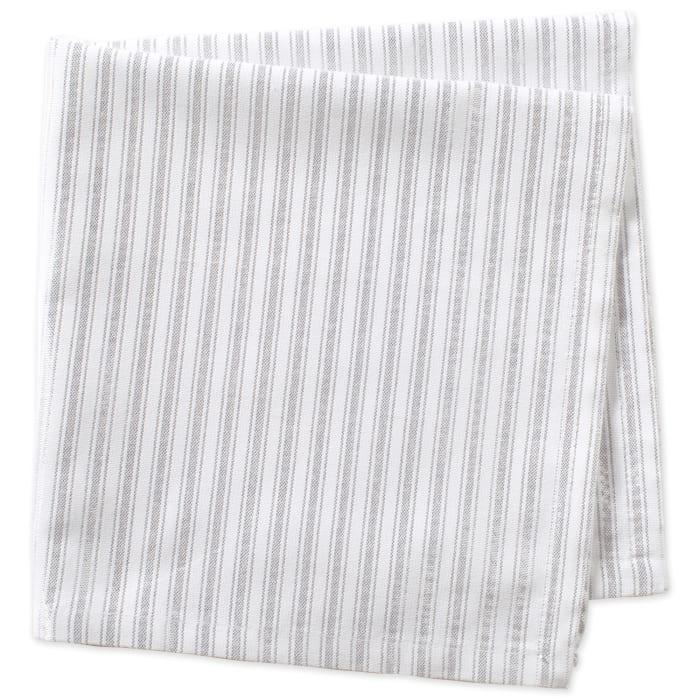 Silver Stripe Napkin (Set of 6)
