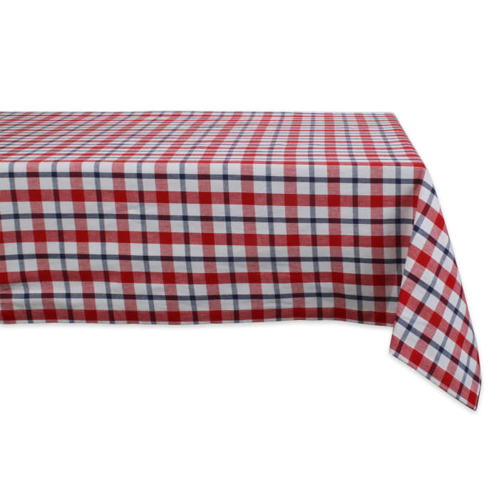American Plaid Tablecoth 60x84