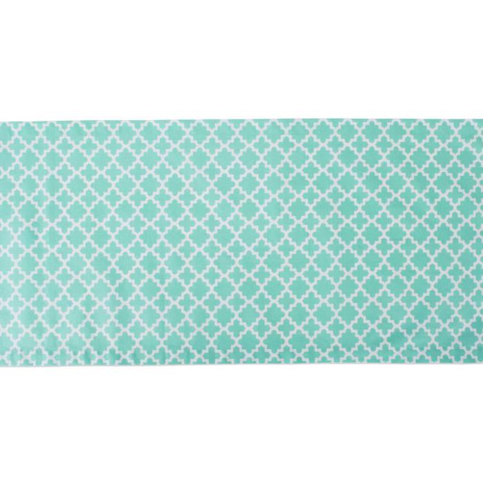 Aqua Lattice Table Runner 14x108