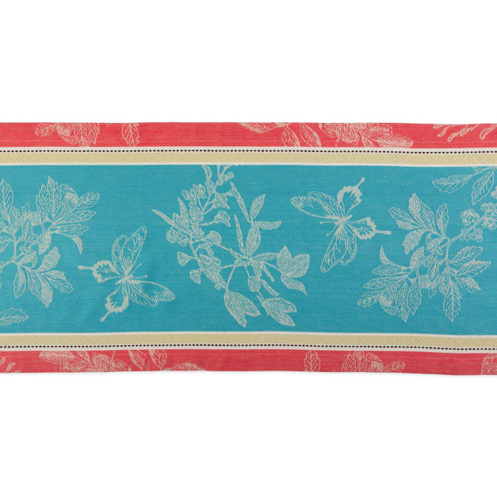 Botanical Garden Jacquard Table Runner 14x72