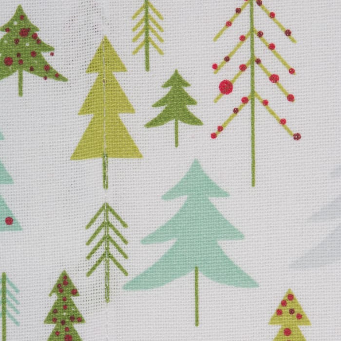 Holiday Woods Printed Table Runner 14x108