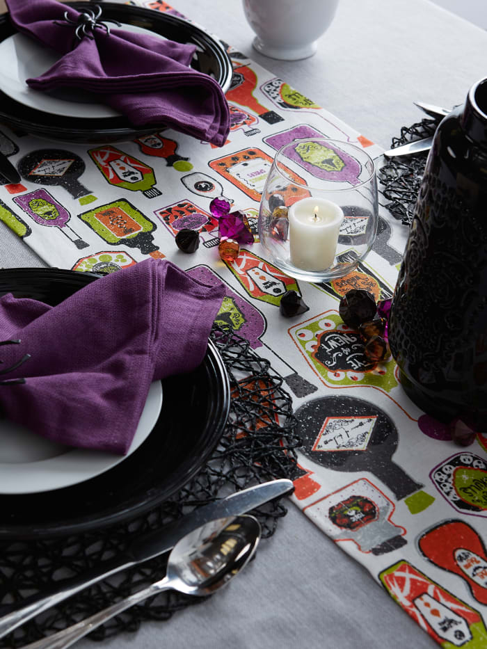 Poison Printed Table Runner 14x108