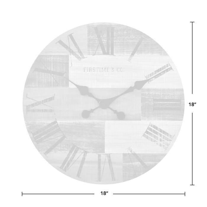 Farmhouse Pallets Wall Clock