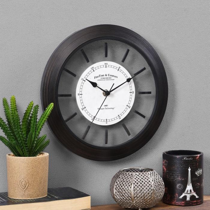 Foundry Bronze Wall Clock