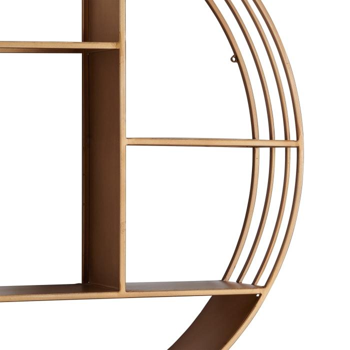 Gold Circular Shelf